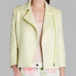 TED BAKER Tweed Biker Jacket